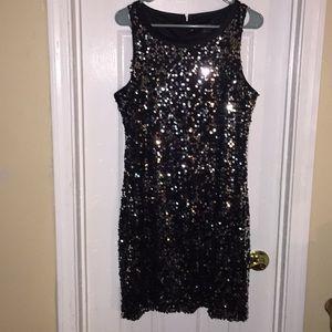 BANANA REPUBLIC  S:12 Formal Sequence Dress